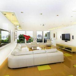 VIDEO - Luxusný 3 izbový byt s terasou, 2 x garážové státie v Bratislave - Koliba