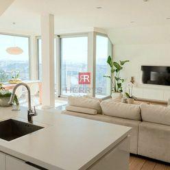 HERRYS - Na prenájom nadštandardný 3 izbový byt s krásnym výhľadom pod Slavínom na Vlčkovej ulici, S