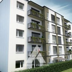 Novostavba- 1 izbové byty v obci Rohožník