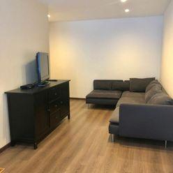 Na prenájom útulný 3izb. byt v tichej časti plnej zelene, Heyrovského ul., s KBTV a Internetom, VŠET