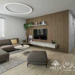 REZERVOVANÉ: DELTA | Bory Bývanie 2 - Strešný 3 izbový byt s terasou v novostavbe, Lamač / Devínska