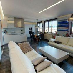 REZERVOVANÉ - Na predaj priestranný mezonetový 3-izbový byt s terasou, Vajnorská ul.
