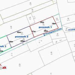 Na predaj 3 stavebné pozemky v obci Mníchova Lehota, každý o rozlohe 611 m2.
