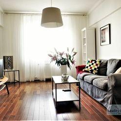 PREDAJ: príjemný 2i byt pri Račianskom mýte, 62 m2, kompletná rekonštrukcia, loggia, výťah, zateplen