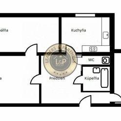 Na predaj 3 izbový byt na ul. Bukureštská - sídlisko Ťahanovce