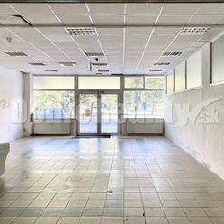 PRENÁJOM - Obchodný priestor (predajňa, kaderníctvo, kozmetika, fitness) rozloha 135 m2 Veľkonecpals