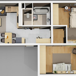 Novinka-Luxusný 3izbový byt s krásnym výhladom