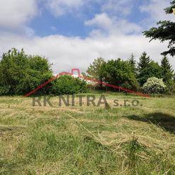 REZERVOVANÝ EXKLUZÍVNE pozemok pre výstavbu RD Párovské Háje, Nitra