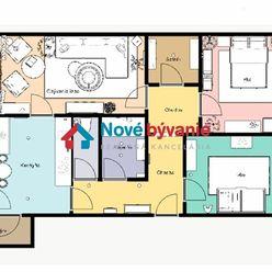 EXKLUZÍVNE na predaj 3 izbový byt s perfektnou dispozíciou v Humennom (N162-113-MIM)