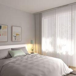 3i byt s dvoma balkónmi Zelené Vlčince (D.209)