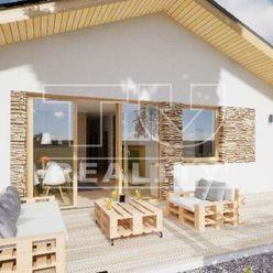 Novostavba 4 izbového bungalovu, pozemok 670 m2, Smolenice, okr. Trnava