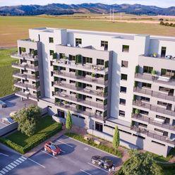 4. PODLAŽIE, 2-izbový byt s balkónom 4E na 4. podlaží, BYTOVÝ DOM BARBORA - NOVÉ BYTY V POPRADE NA P