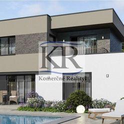 Rozostavaná stavba moderného rodinného domu v Bábe na predaj
