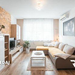 NA PREDAJ 3 - izbový slnečný byt v Moste pri Bratislave
