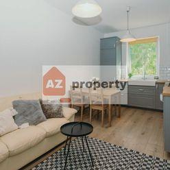 Na prenájom 2-izb. byt v pokojnej lokalite výhľadom do zelene v tehlovom dome na Budyšínskej ulici