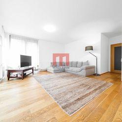 Na prenájom nadštandardný 2 izbový byt s predzáhradkou vo výnimočnom projekte PARKVILLE