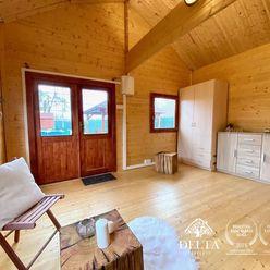 DELTA | REZERVOVANÉ - Záhradna chata s pozemkom 629m2, Polianky - Dúbravka