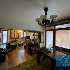 Predám veľký 4 izb. byt KE - Podhradová v štvorbytovke, pozemok 450 m2, garáž