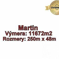 MARTIN-Záturčie pozemok na developerské a komerčné účely 11 672m2