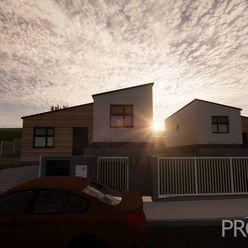 EXKLUZÍVNE U NÁS - 3 izbový útulný rodinný dom, novostavba, 705m2, Tr. Mitice