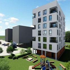 SQUARE • 2 izbový byt s loggiou v NOVOSTAVBE