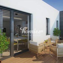 PREDAJ 3 izbový byt s terasou  a výhľadom na Zobor - NOVOSTAVBA