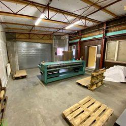 Na prenájom vykurovaný sklad 145 m2 v priemyselnej zóne v Žiline