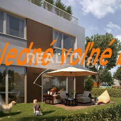 POSLEDNÉ voľné 4 izbové byty v novostavbe s vlastnou záhradou Kynek /Nitra/.