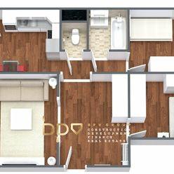 BpV ponúka na predaj 3 izb. byt po kompletnej rekonštrukcii v Dubnici n/V