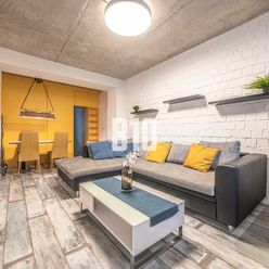 Jedinečný 2 izbový byt v industriálnom štýle pri  Štrkoveckom jazere