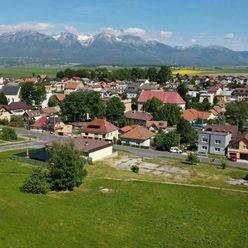 Predaj pozemkov na výstavbu rodinných domov v Poprade