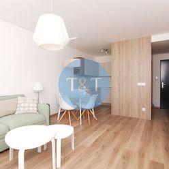 20.poschodie - Štýlovo zariadený 2 izbový byt s loggiou v novostavbe Fuxova