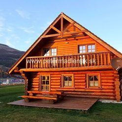Na predaj 3 kanadské zrubové chaty v obci Telgárt.