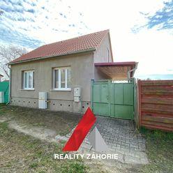 Na predaj starší rodinný domček v centre obce Vysoká pri Morave