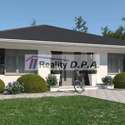 Ponúkame na predaj 4 izbový RD typu bungalov v obci Horný Kalník
