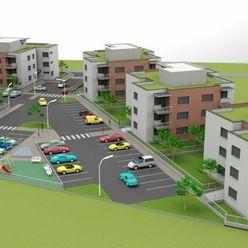 Projekt NOVÝ ŠAMOT, 2 izbový byt, balkón, parkovacie státie, výborná lokalita