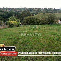 Pozemok vhodný na výstavbu rodinného domu v tichej lokalite. Žemberovce, 1200 m2