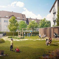 Rezervovaný (D2.1.1.) 3-izbový byt s loggiou a 2 predzáhradkami- rezidenčný projekt POLIANKY - Zavar