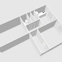 Predáme 2-izbový byt v tehlovom dome