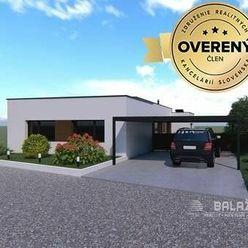 PRÍBOVCE - Bungalov novostavba 4 izb. domu,REZERVOVANÉ