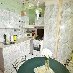 REZERVOVANÉ / 1-izbový byt prerobený na 2-izbový,s balkónom,Poprad