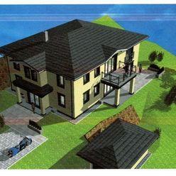 Rozostavaný rodinný dom na PREDAJ + pozemok 1600 m2 + kompletná dokumentácia