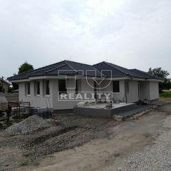 Predané! Výborná lokalita! Novostavba! 4 izbový rodinný dom, pivnica, terasa, 705 m2, Nová Jelka okr