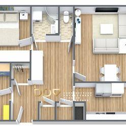 Rezervované - BpV ponúka 3 izbový kompletne zrekonštruovaný byt v Trenčíne - sídlisko Juh