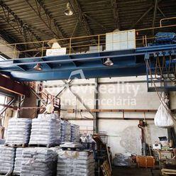 Výrobné, skladové HALY 200 m2 a 409 m2 s kúrením a žeriavom, PD – Priemyselná zóna