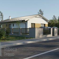 Predaj  slnečného bungalovu v Kotešovej - hrubá stavba ,cena: 124000Eur
