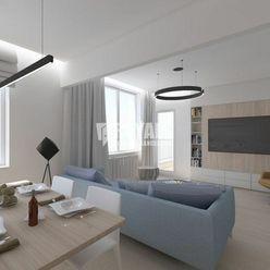 Predaj 2i byt + balkón + pivnica, 500 bytov, Nivy, pôvodný stav s architektonickým návrhom