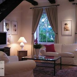 6-izbová, historická zariadená vila (200m2) na prenájom, Horský park