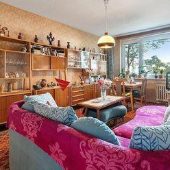 Veľký 2 izbový byt na Nezabúdkovej ulici v Ružinove