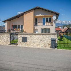 Predám nadštandardný moderne riešený dom v Lučivnej